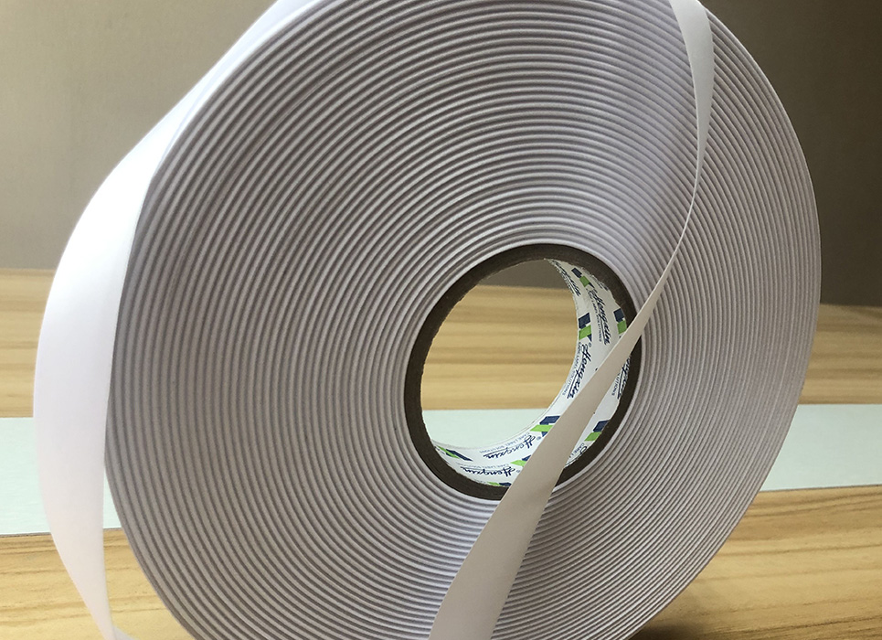 Double sided woven edge polyester satin for thermal transfer printing WD881