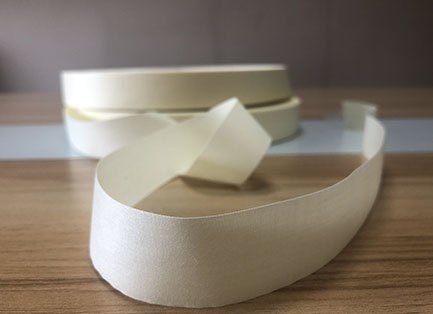 Light yellow soft poly cotton-tape  TC1541